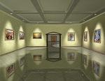 3D картинная галерея